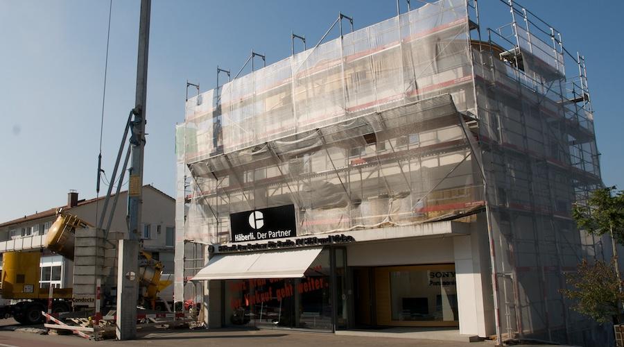 Umbau Ladengebäude